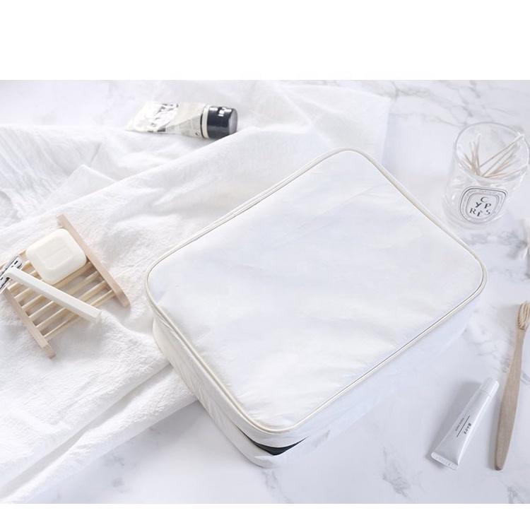 Белая подвесная косметичка для стирки, белая дорожная легкая косметичка для косметики