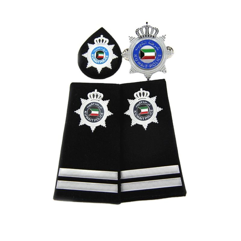 Kuwait Professional Custom silicone uniform army Shoulder Board US Marine Epaulette