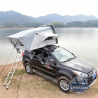 Car Tent Car Tent Travelling Foldable Car Roof Top Tent Hard Shell With Free Ladder