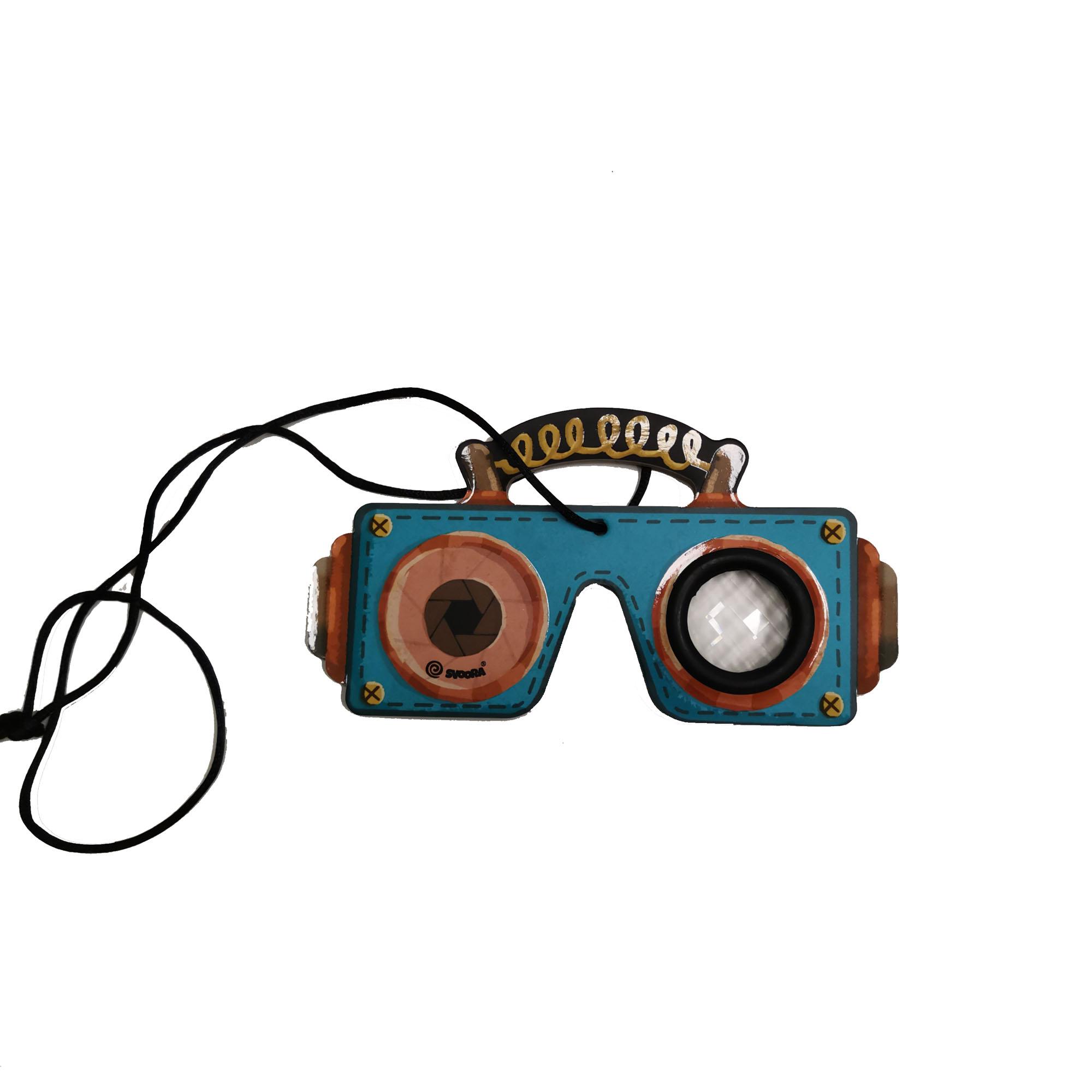Eco friendly custom beauty rigid toy flat kaleidoscope for children