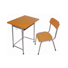 School School School Desk And Chair Cheap Classroom Single Desk And Chair School Writing Table With Book Drawer For Student Furniture
