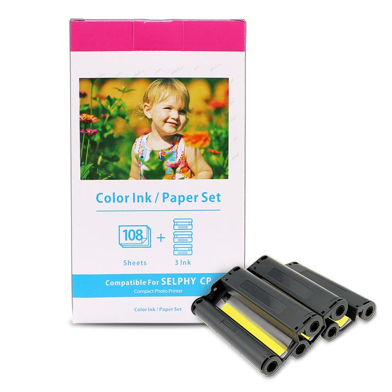 Горячая Распродажа, совместимая фотобумага Canon с печатью для Canon Kp-108in Selphy Cp1300