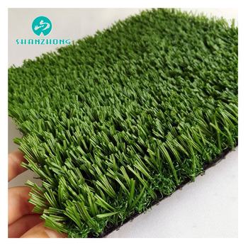 Safe Non Infilling Artificial Grass Cheap Artificial Turf for Indoor Soccer Court