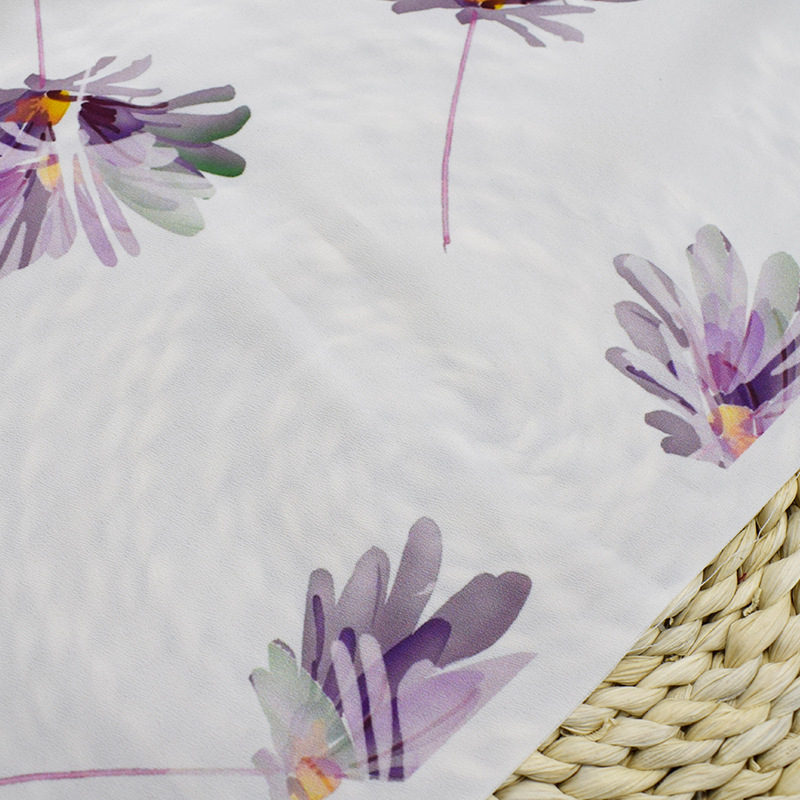 Butterfly print 100% polyester pigment printing fabric microfiber Chinese supplier