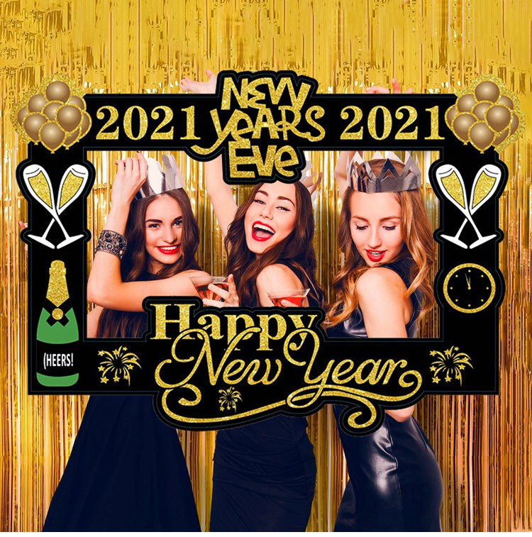 Antigua Christmas Eve Events 2021 Parties Happy New Year Photo Booth Props Christmas Party Supplies For 2021 Photo Booth Prop Happy New Year Decorations Navidad Buy Happy New Year Photo Booth Frame Props Christmas Eve Party Decorations