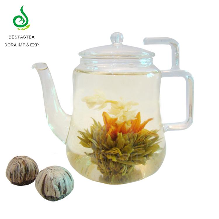 OEM Customized Package Natural Handmade Beauty Artistic Flower Tea Chinese Blooming Green Tea Ball - 4uTea   4uTea.com