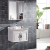 Modern Furniture Modern Sanitary Ware Vanity Basin Bathroom Cabinet with Mirror