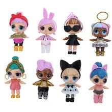 Совершенно новые оригинальные куклы LOL сюрприз волосы цели DIY lol Домашние животные игрушка обучающая Новинка для детей на день рождения Рожд...(Китай)