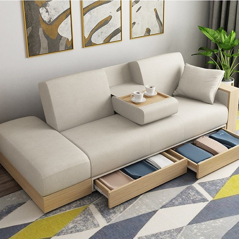 Hot Sale High Quality Simple Design Living Room Multifunctional Sofa Bed -  Buy Multifunctional Sofa Bed,Living Room Sofa,Multi-functional Sofa Bed  Design Product on Alibaba.com