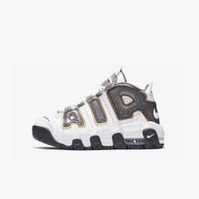 Nike Air More Uptempo воздушная подушка змеиная детская Баскетбольная обувь для мальчиков Cq4581-100(Китай)