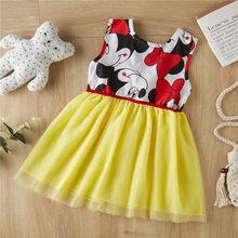 Вечерние платья для маленьких девочек на свадьбу, лето 2020, Детские платья для маленьких девочек, детское праздничное платье принцессы с юбк...(China)