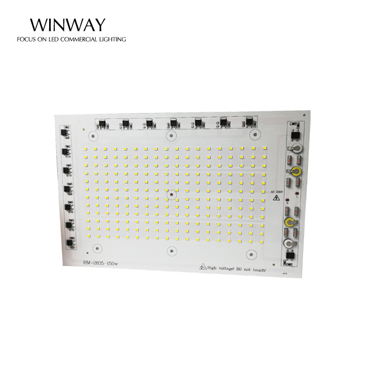high lumens DIY Driverless popular light price 150w Spotlight ac smd No need driver floor light lamp For LED Floodlight