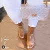 Clear tassen met Schoenen