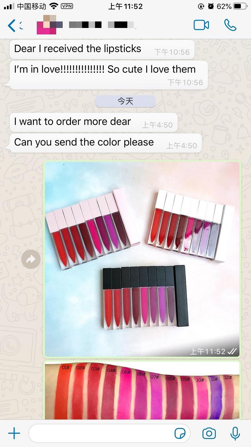 Vegan velvet matte liquid lipstick makeup nude lipsticks