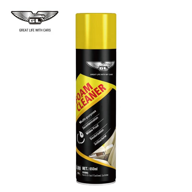 GL 650ML car internal foam cleaner spray