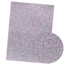IBOWS 22*30 см блестящая синтетическая кожа блестящие полосы блесток бант ткань для свадебного украшения DIY сумки обувь Швейные материалы(Китай)