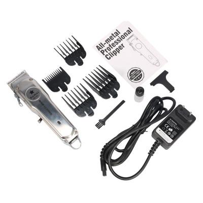 Перезаряжаемая электрическая машинка для стрижки волос Kemei, триммер, высокая производительность, T-Blade KM-1997