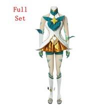 ROLECOS LOL Star Guardian Neeko Косплей Костюм LOL игра косплей сексуальный женский костюм для Хэллоуина платье Neeko полный комплект размера плюс(Китай)