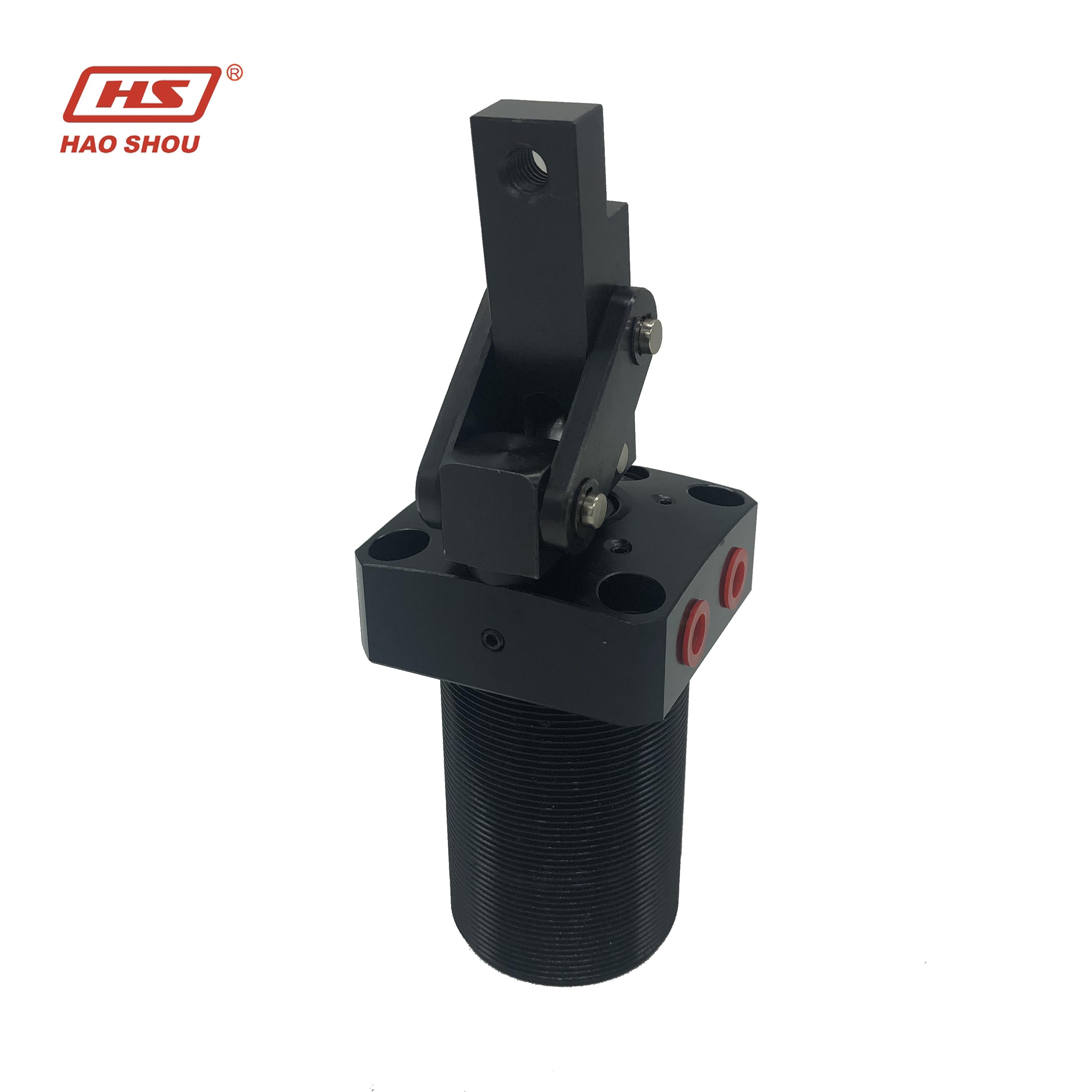 HPLCU-40R body aluminum alloy piston S45steel Pneumatic Leverage Clamp