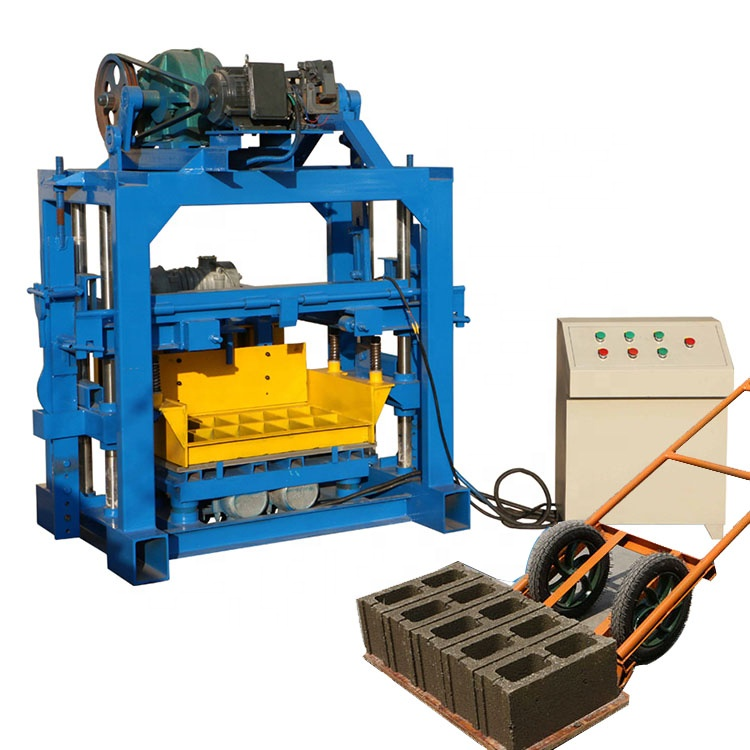 concrete block mold fly ash brick making machine manufacturer