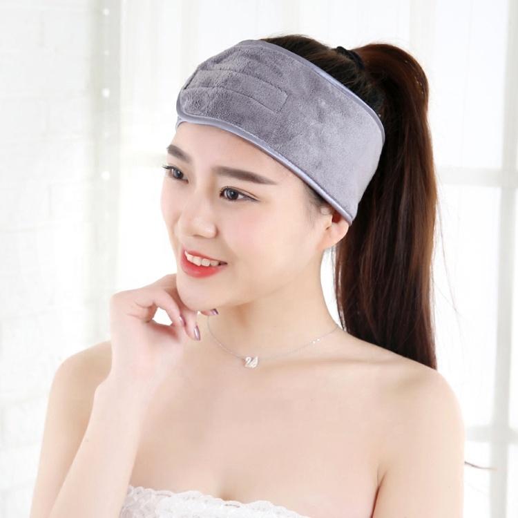 Полотенце-повязка на голову для макияжа спа