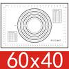 600*400x0,4mm, negro