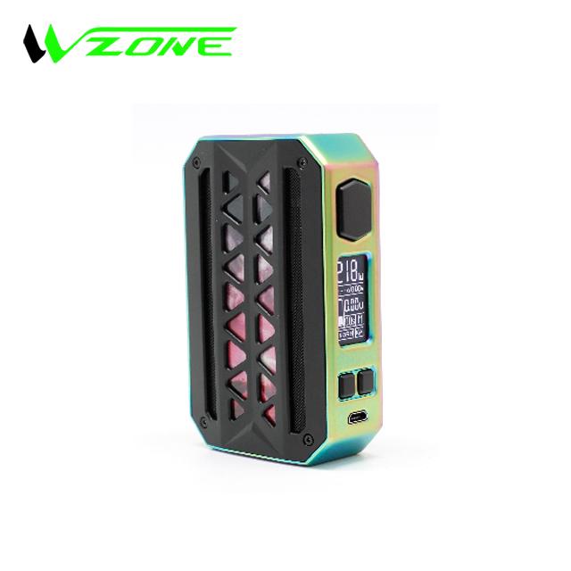 Waterproof Vzone eMask 218W TC Box MOD e cigarette mod dual 18650 battery box mod e smoker - MrVaper.net
