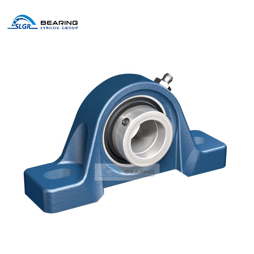 SLGR EKYB282 Bearing Seat UCPH208 Wholesale High Precision Gold Seller Support Customization High Temperature Resistance