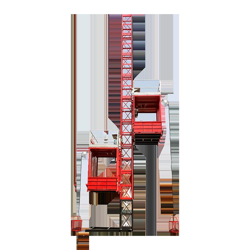 SC120/120 Adjustable speed construction hoist elevator