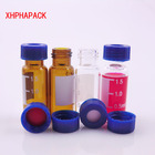 Vial Sample Vials Vial 2ml Autosample Vial 1.5ml 2ml 4ml 10ml 20ml Chromatography For HPLC GC With Septas Silicone /PTFE Sample Vials