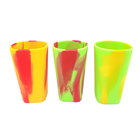 Glass Cup Hot Sell Silicone Pint Glass BPA-Free Shatter-proof Unbreakable Silicone Beer Drinking Cup