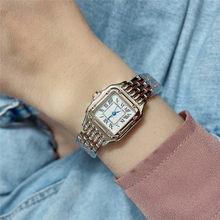 Горячая Распродажа новые часы роскошные серебряные модные часы мужские часы из нержавеющей стали женские наручные часы унисекс часы для вл...(Китай)