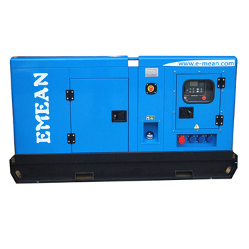 Low fuel consumption 40kva soundproof diesel generator