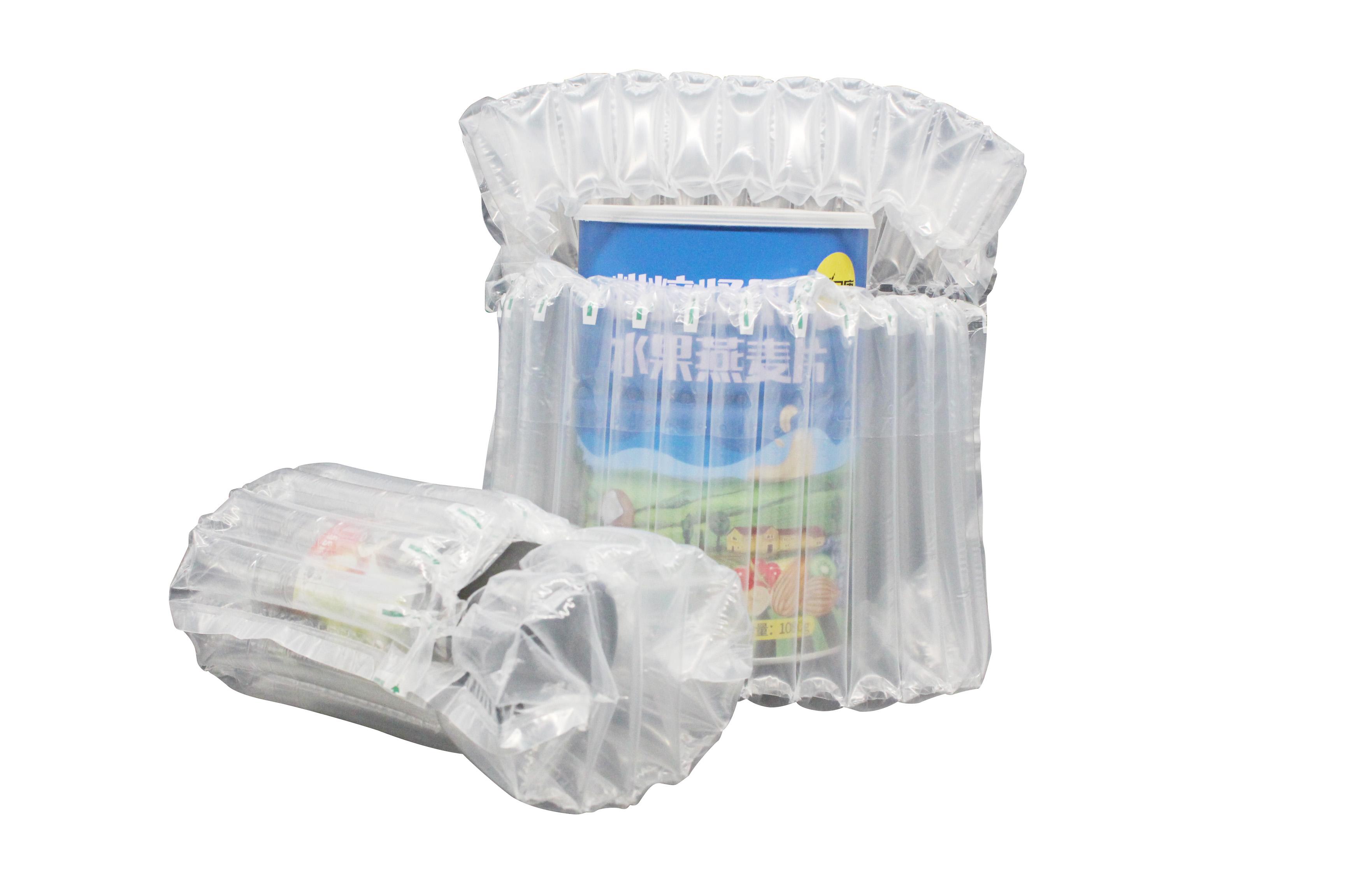 Оптовая продажа, Портативные Надувные Упаковочные мешки для молочного порошка и винной бутылки, амортизирующая надувная подушка