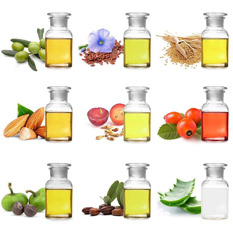 Оптовая продажа, органическое натуральное чистое Золотое масло жожоба для ухода за кожей волос