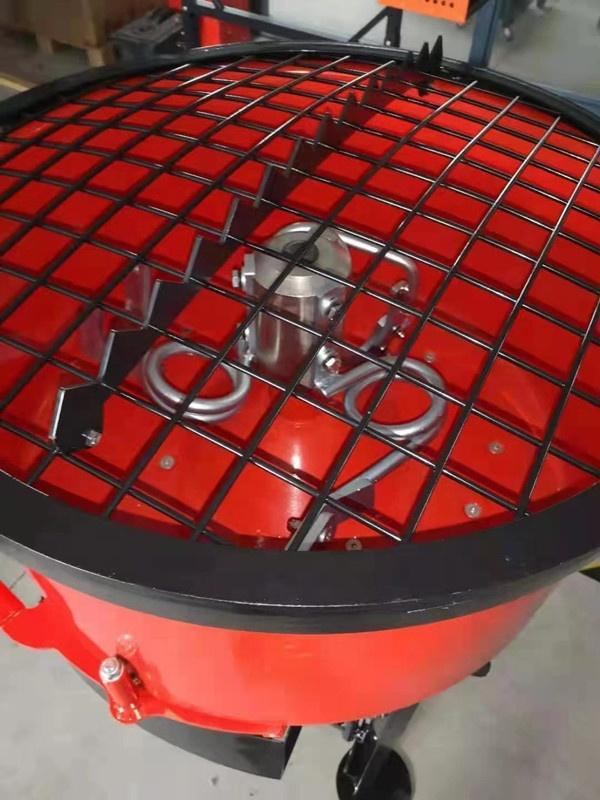 Бетономешалка Электрический двигатель 1 кВт мощный барабан для смешивания 120 л производительность