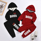 Spring Hot Children's Long-sleeved Hooded Sweater shirt + Trousers Clothes Kids Tracksuit Autumn Baby Boy Outfit For Birthdays