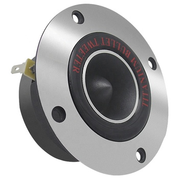 Hot selling 1 inch 25mm KVC 4 or 8ohm Titanium Bullet Tweeter for Car Audio Speaker in Stock