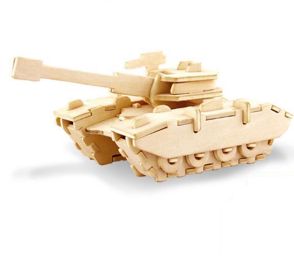 Животные Обучающие Детские сборные игрушки своими руками головоломка 3d Деревянный пазл