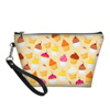 Macarons and fruits cosmetic bag 5