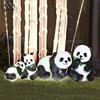 4 pcs panda