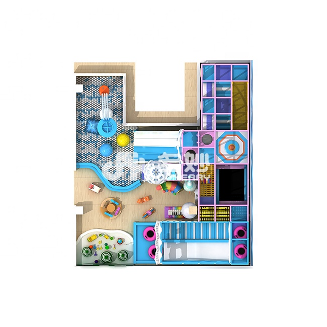 Children Indoor Plastic House Soft Play Kids interesting Amusement Park