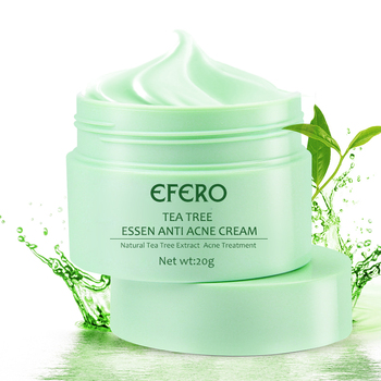 EFERO Oil Control Shrink Pores Tea Tree Cream Acne Cream Scar Removal Acne Epiderm Cream for Acne