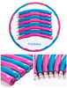 Pink&blue HULA ring HOOP