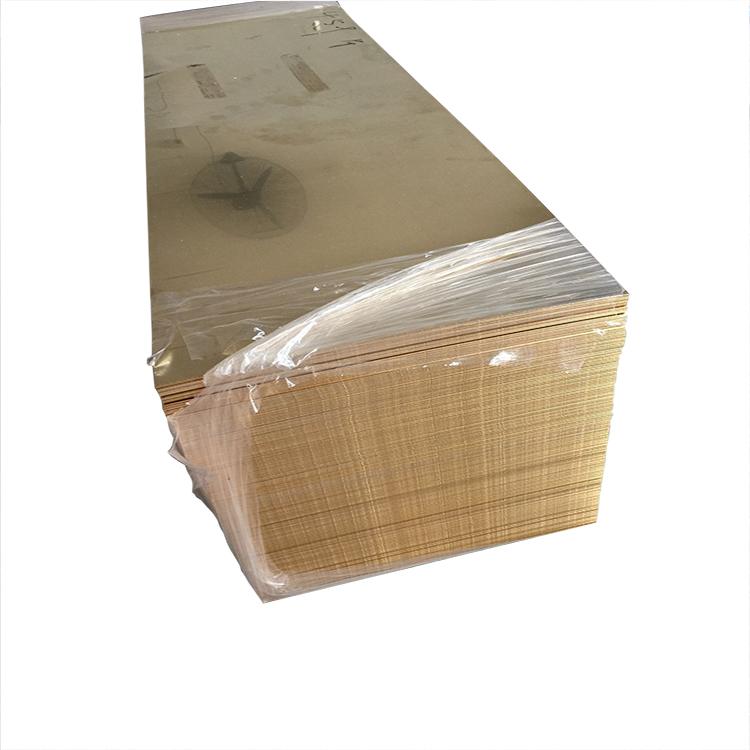 Полированный латунный лист