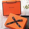 Orange folio box