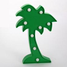 3DLED буквы сказочный ночник для детской спальни украшения Детские праздничные подарки Звезды зверь Тропическое дерево корона стиль(Китай)