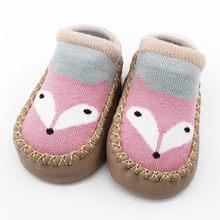 Детская обувь с героями мультфильмов; нескользящие носки для новорожденных девочек и мальчиков; тапочки; ботинки; Scarpe Neonata; обувь для новоро...(China)