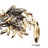 8# 3*11mm Eye Gold