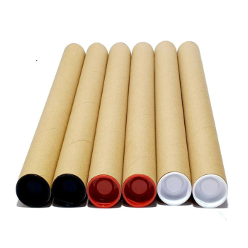 Poster Cardboard Cylinder Packaging Mailing Fabric Cardboard Tube Core 2 ft shipping tube